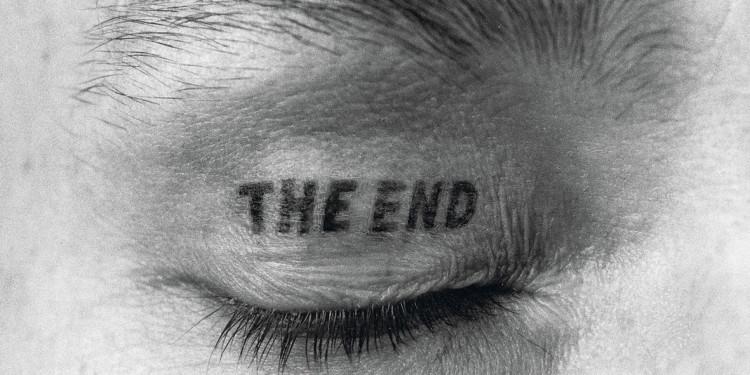 Augenlid-Tätowierung, Inkjet-Print auf Leinwand auf Keilrahmen, 150 x 150 cm © VG Bild-Kunst, Bonn 2015