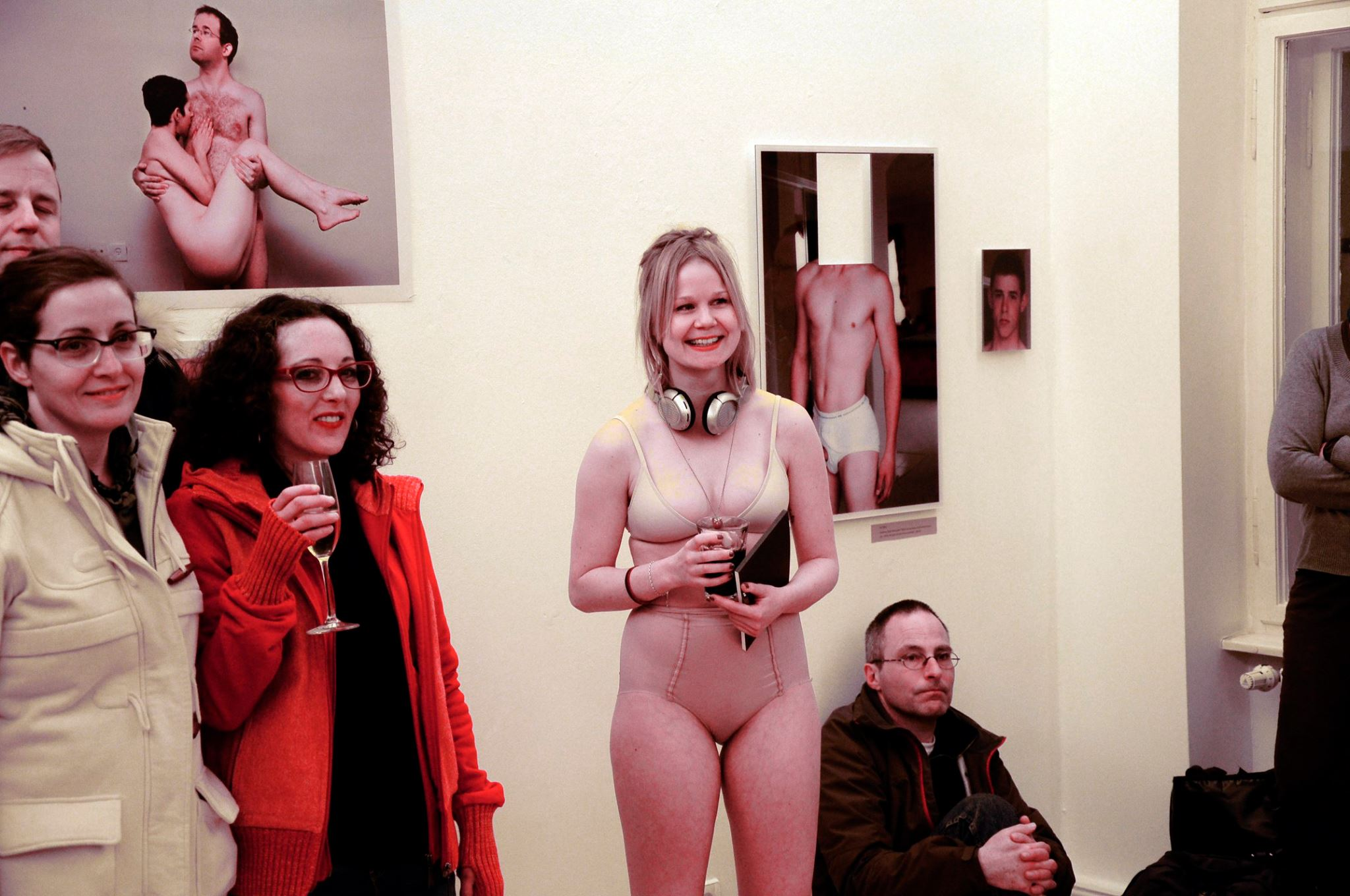 Vernissage: Sex Macht Gut, Berlin, Sprechsaal  März 2015, Photos - courtesy of Helena Guifrida