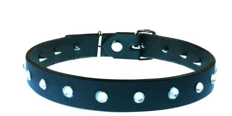 Halsband mit Spikes und Swarovski®,49,00 €