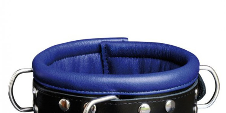 Halsfessel blau/schwarz, 27,95 €